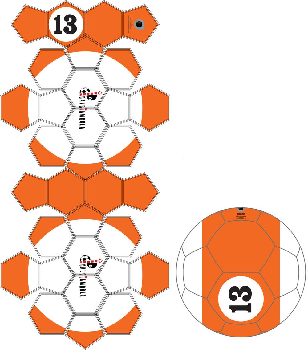 Fußball Billard - Soccerpool - Funsport ballprint exklusiv