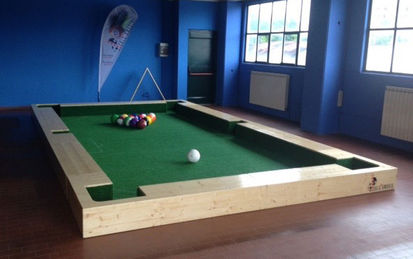 Soccerpool Indoor Feld