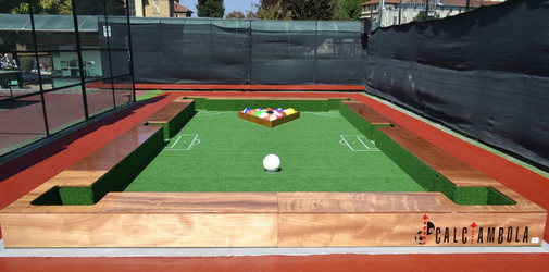 Soccerpool Outdoor Feld