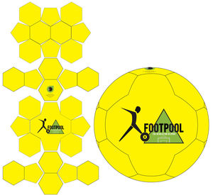 Footpool Billiard Fußball