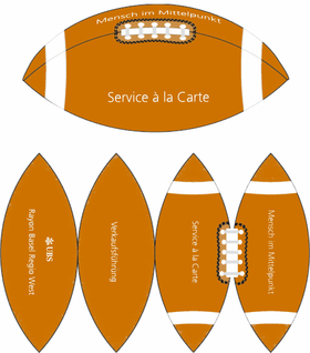 Layout American Football