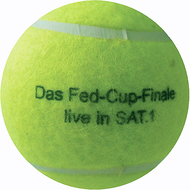 Tennisball Fed Cup