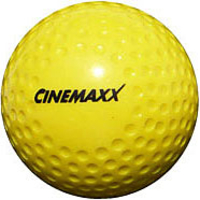 Hockey Ball CinemaxX gelb