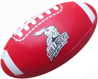 Softball American Football oder Rugby Ball